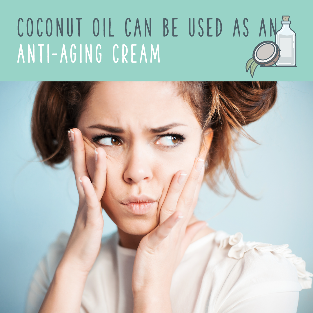 coconut oil antiaging