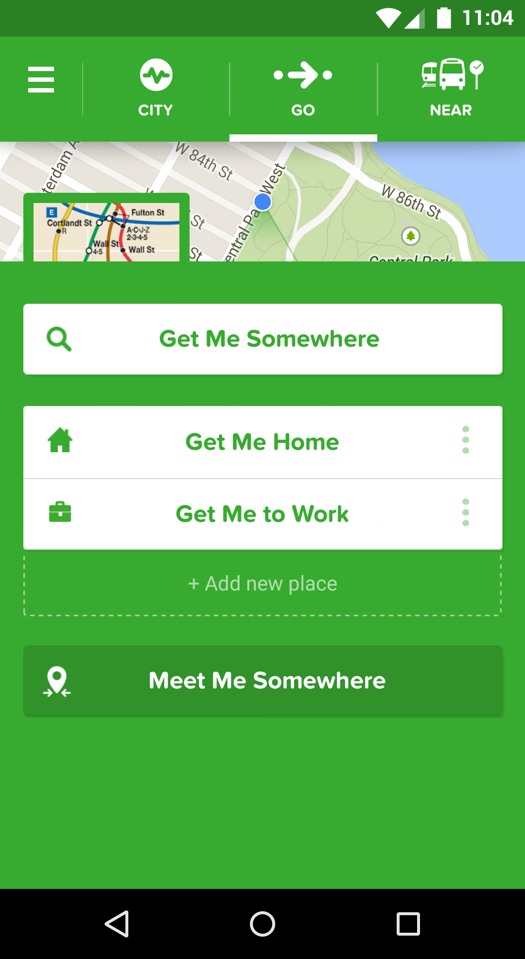 Citymapper screenshot