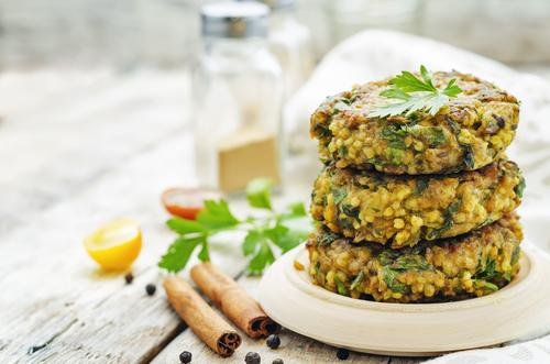 Vegan meal to reduce carbon consumption