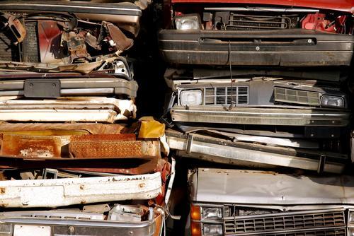 Auto recycling pile
