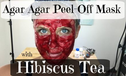 Agar-Agar Peel-Off Mask