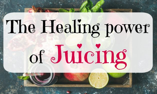 The healing power of juicing
