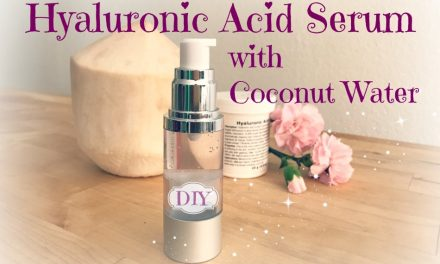 Anti-Aging Hyaluronic Acid Serum with Coconut Water