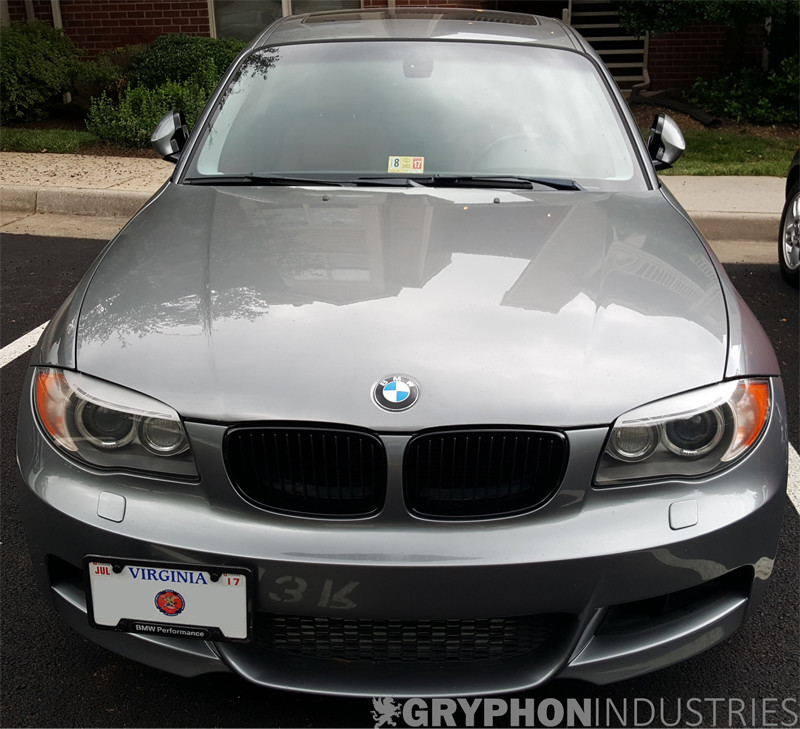 Bmw 1 Series Frosted Lci Eyebrow Headlight Overlay Decals