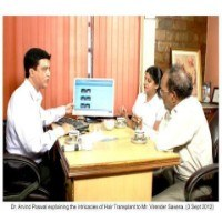 celebrity hair transplant virendra saxena