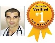 Dr Baubac Alvi Armani Hair Transplant Review