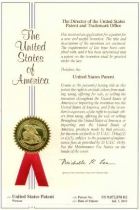 Mark Weston Scalp Micropigmentation Patent