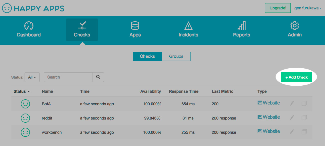 Monitoring Elasticsearch, creating checks is simple