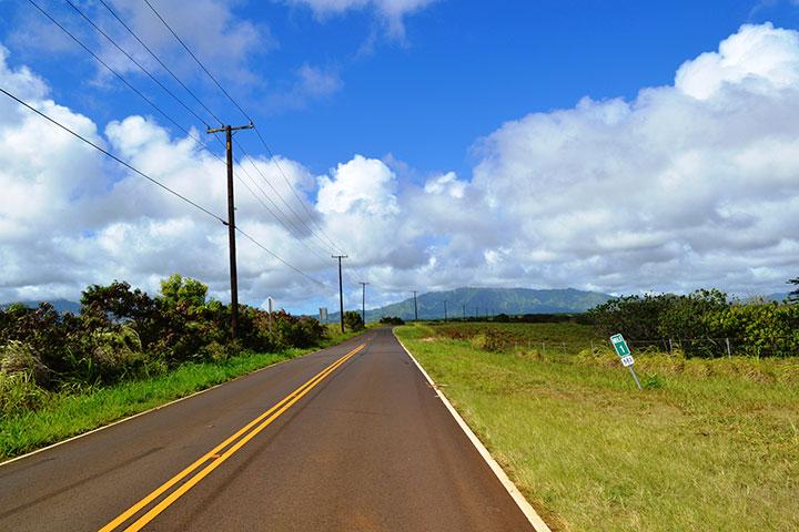 KauaiRoad driving in kauai