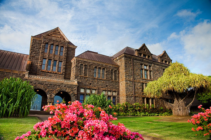 Bishop Museum.  Photo courtesy of Hawaii Tourism Authority (HTA) / Tor Johnson.