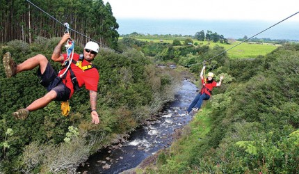 Big Island zipline tours