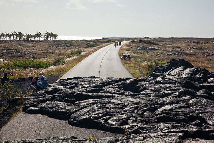 Chain of Craters Road.  Photo courtesy of Hawaii Tourism Authority (HTA) / Tor Johnson.
