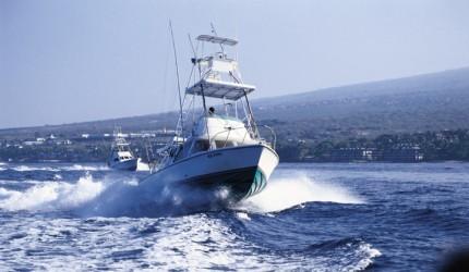 Sportfishing vessel | Hawaii Tourism Authority (HTA) / Kirk Lee Aeder