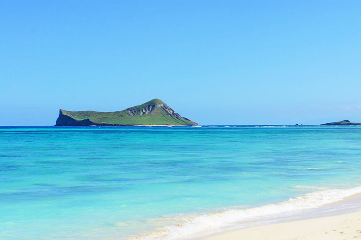 Rabbit Island, Waimanalo Beach
