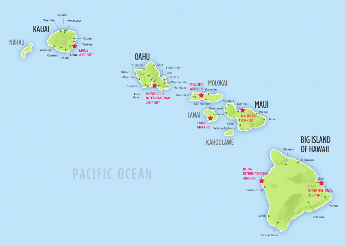 'Airports on each island, click to enlarge' from the web at 'https://s3-us-west-1.amazonaws.com/hawaii-com-wp/wp-content/uploads/2015/02/06035042/Islands_airports.jpg'