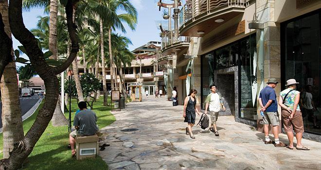 Waikiki Beach Walk On Oahu Hawaii Com