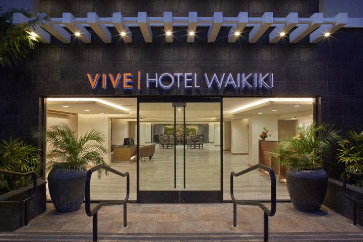 Vive Hotel Waikiki On Oahu Hawaii Com