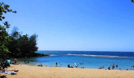 Photo:  Kee Beach, Kauai (Honolulu Star-Advertiser/Jeff Sanner)