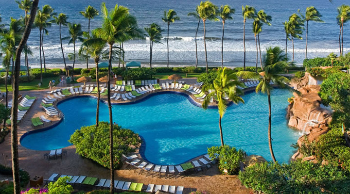 Hyatt-Regency-Maui-Aerial-Pool-View