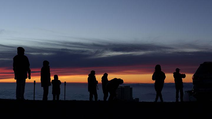 Mauna Kea sunset and stargazing