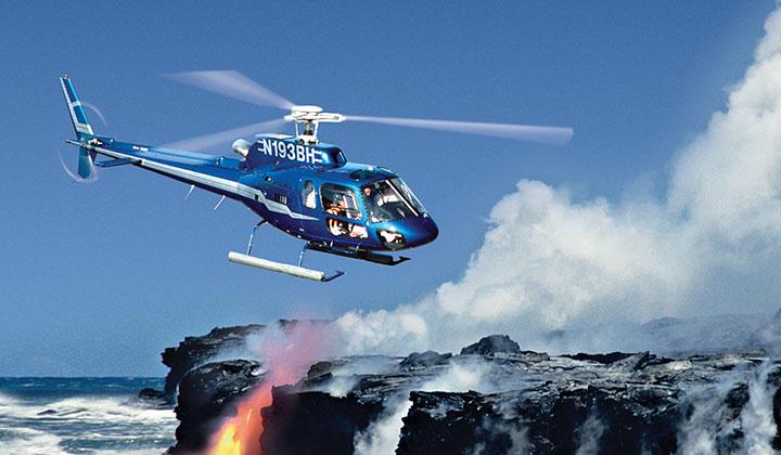 Blue Hawaiian Helicopters on Rental Cars Kauai Hawaii