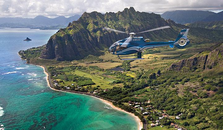Photo courtesy of Blue Hawaiian Helicopters.