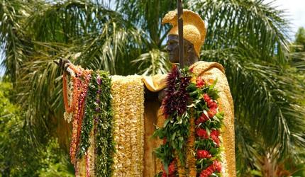 Flickr-Daneil-Ramirez-Kamehameha-Day-Statue-Lei