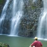 Hawaii waterfall.