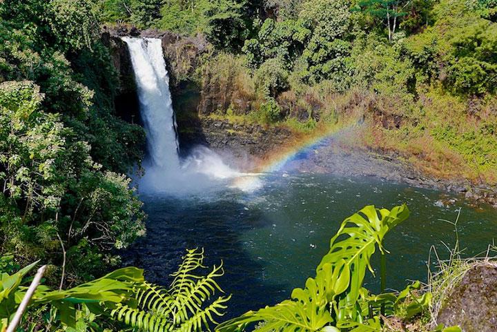 Rainbow Falls On Big Island Hawaii Com