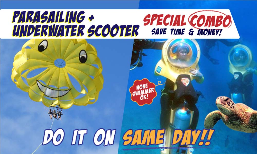 Parasailing & Underwater Scooter