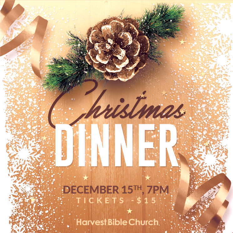 Church Christmas Dinner.Events