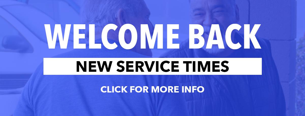 COVID-19 Update and new service times