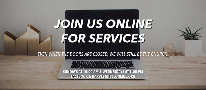Church Services Will Be Online Only For The Next Few Weeks