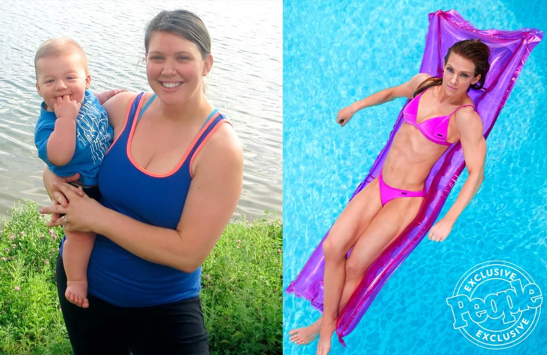 Mom Goes from Eating Pints of Ice Cream to Powerlifting — and Loses 107 Lbs.