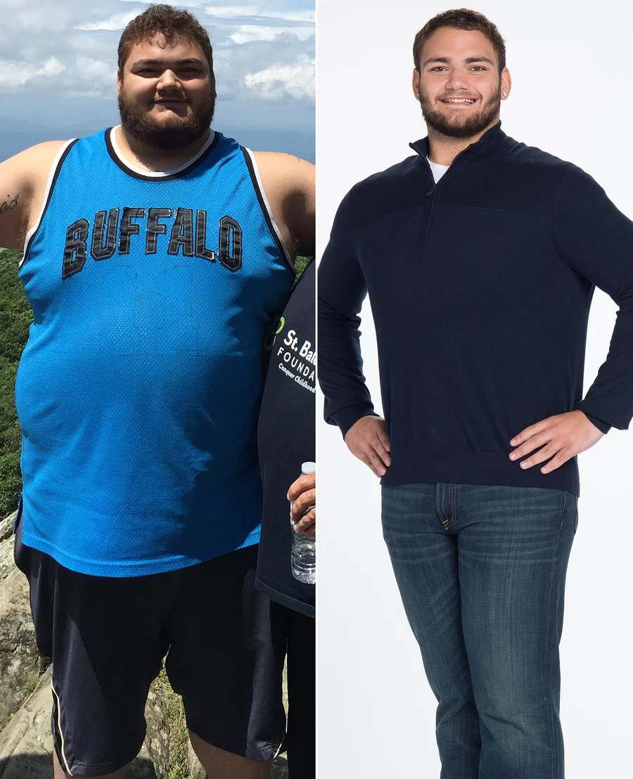 Man Loses 227 Lbs. After Father Tells Him 'We Don't Want to Have to Bury Our Children'