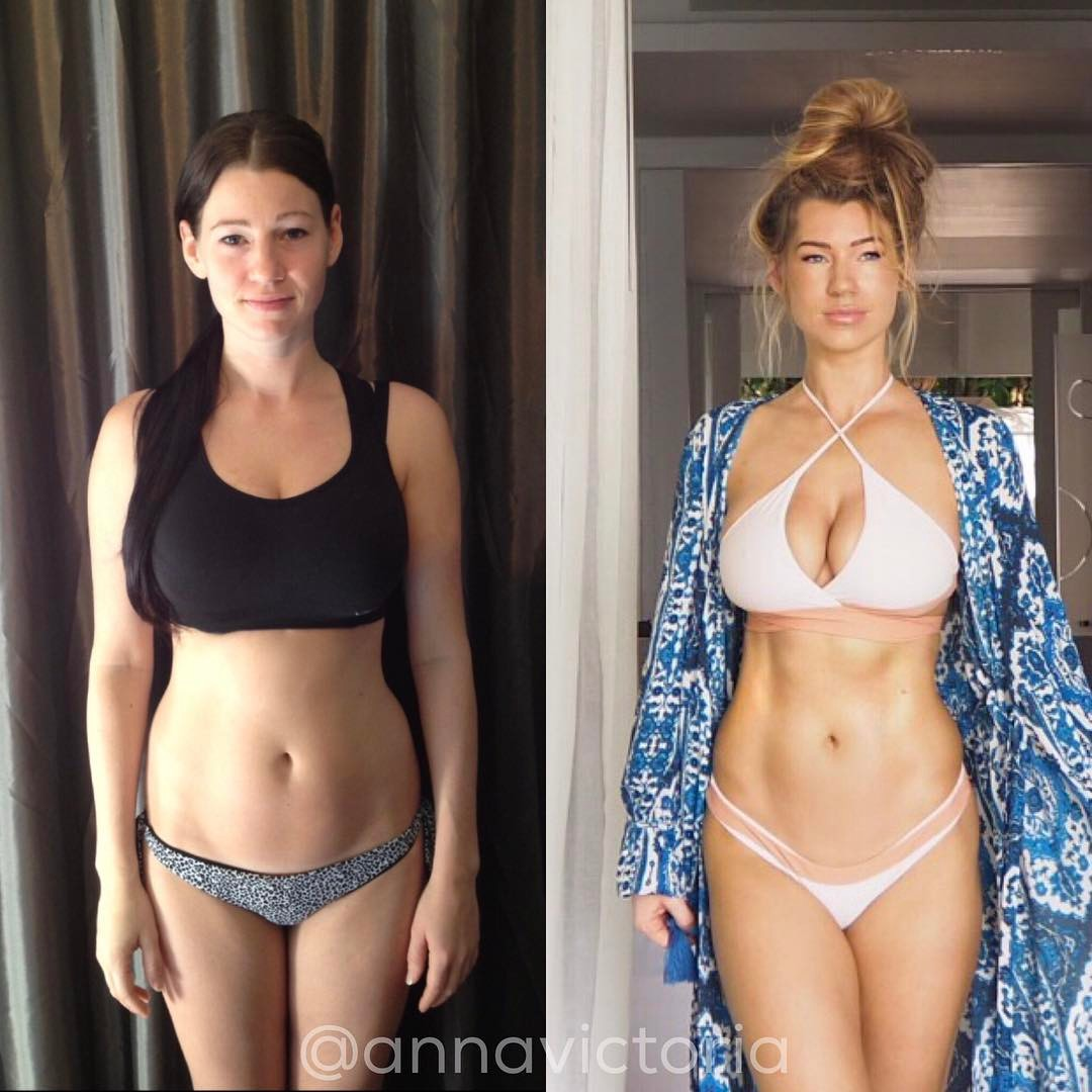 Anna Victoria Shares Her 5-Year Transformation Picture On Instagram