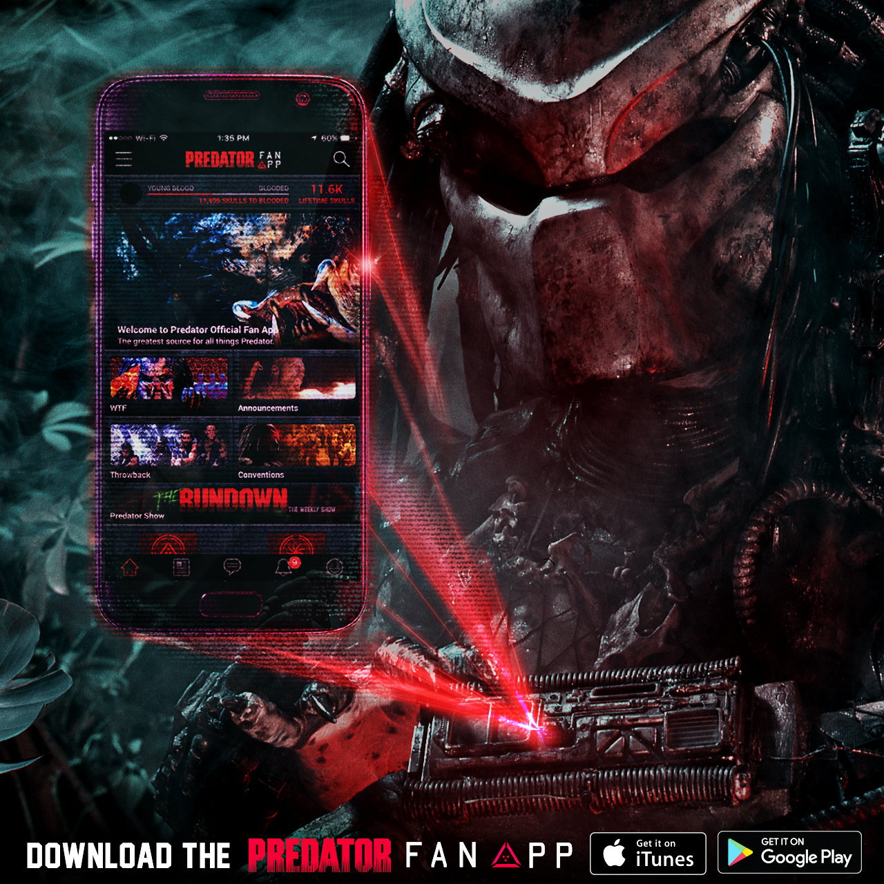 Official Predator Fan App