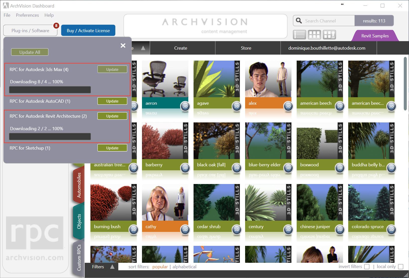 Archvision rpc content: hi-res 2d plants released | archvision blog.