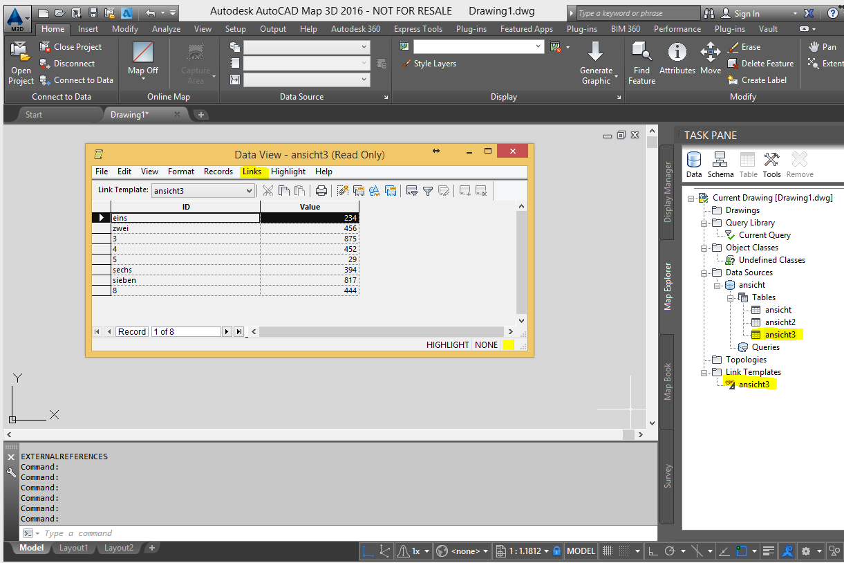 Problem with Excel data (ODBC) | AutoCAD Map 3D 2016 | Autodesk ...