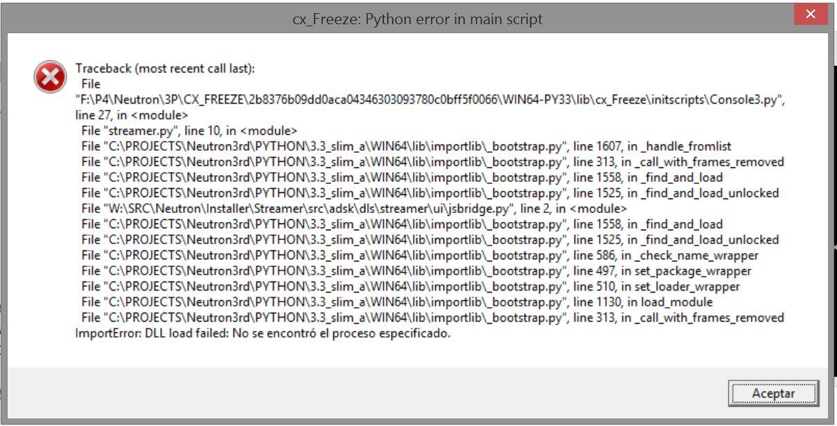 Resolving Cx_Freeze error installing Fusion 360   Fusion 360