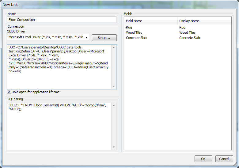 How to import/create new properties tab from a spreadsheet using