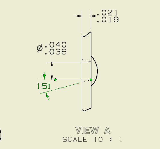 Inventor Trying To Use A Custom Font In A Drawing And Degree Symbol