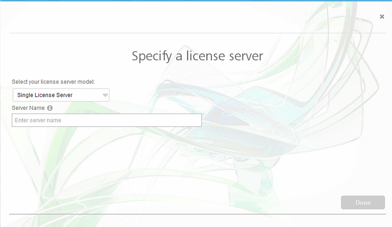How to run a multi-user (network) license on a client