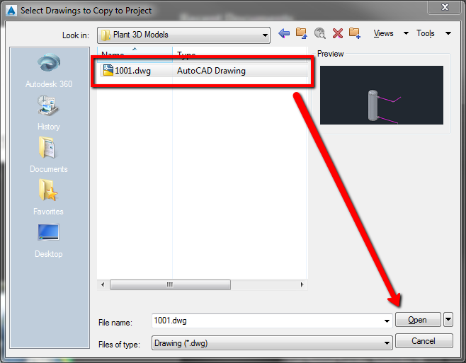 How to copy an AutoCAD Plant 3D drawing to a new or existing AutoCAD ...