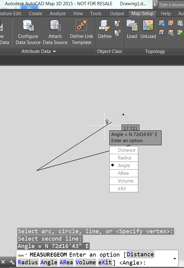 Mostrando ángulos En Las Unidades De Topógrafo Autocad Autodesk Knowledge Network