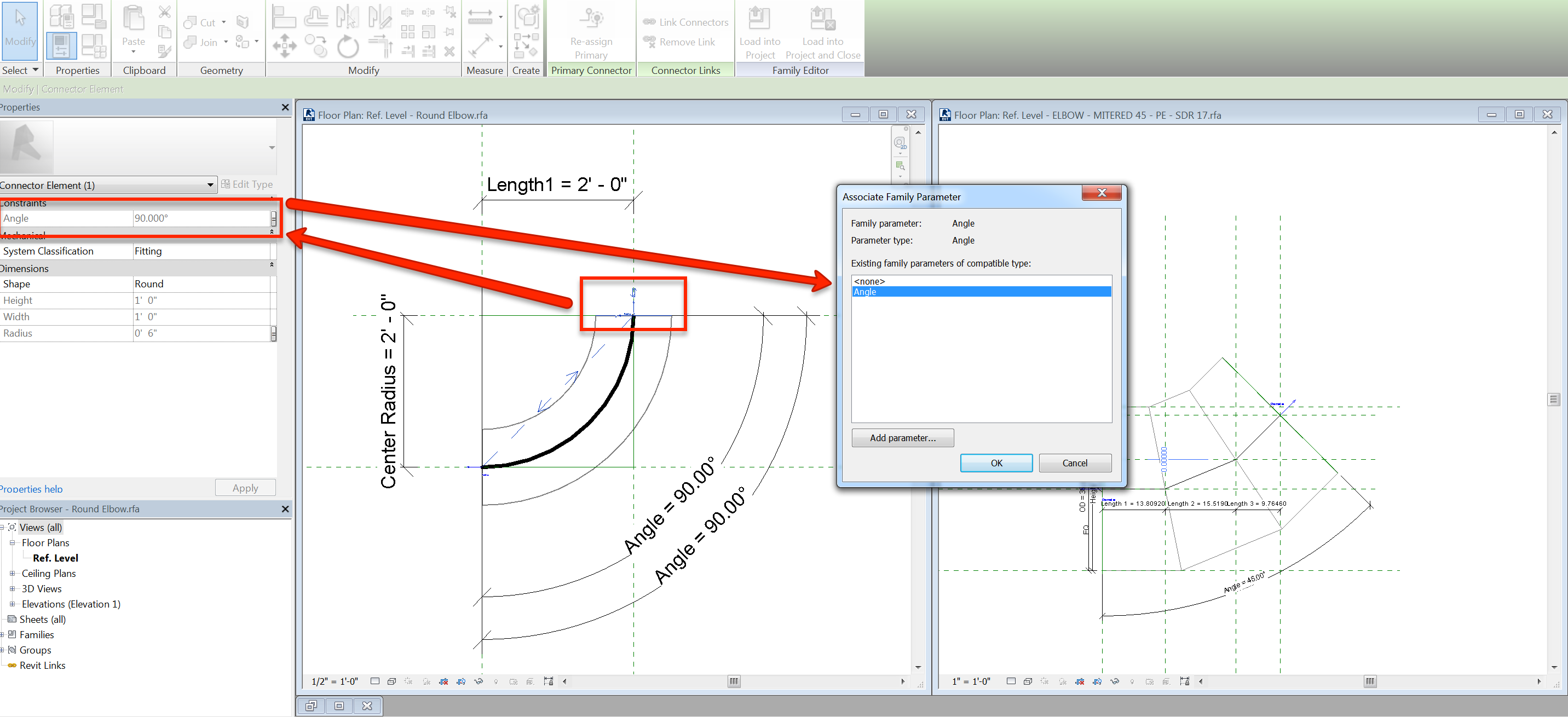 Revit Drawing Duct Or Pipe With Custom Elbow Results In No Auto Hvac User Added Image