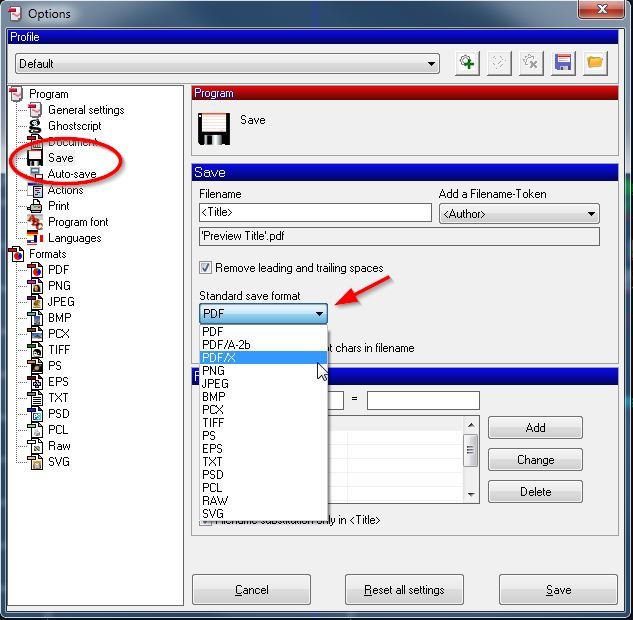 Is it possible to export to PDF/X or PDF/A in AutoCAD