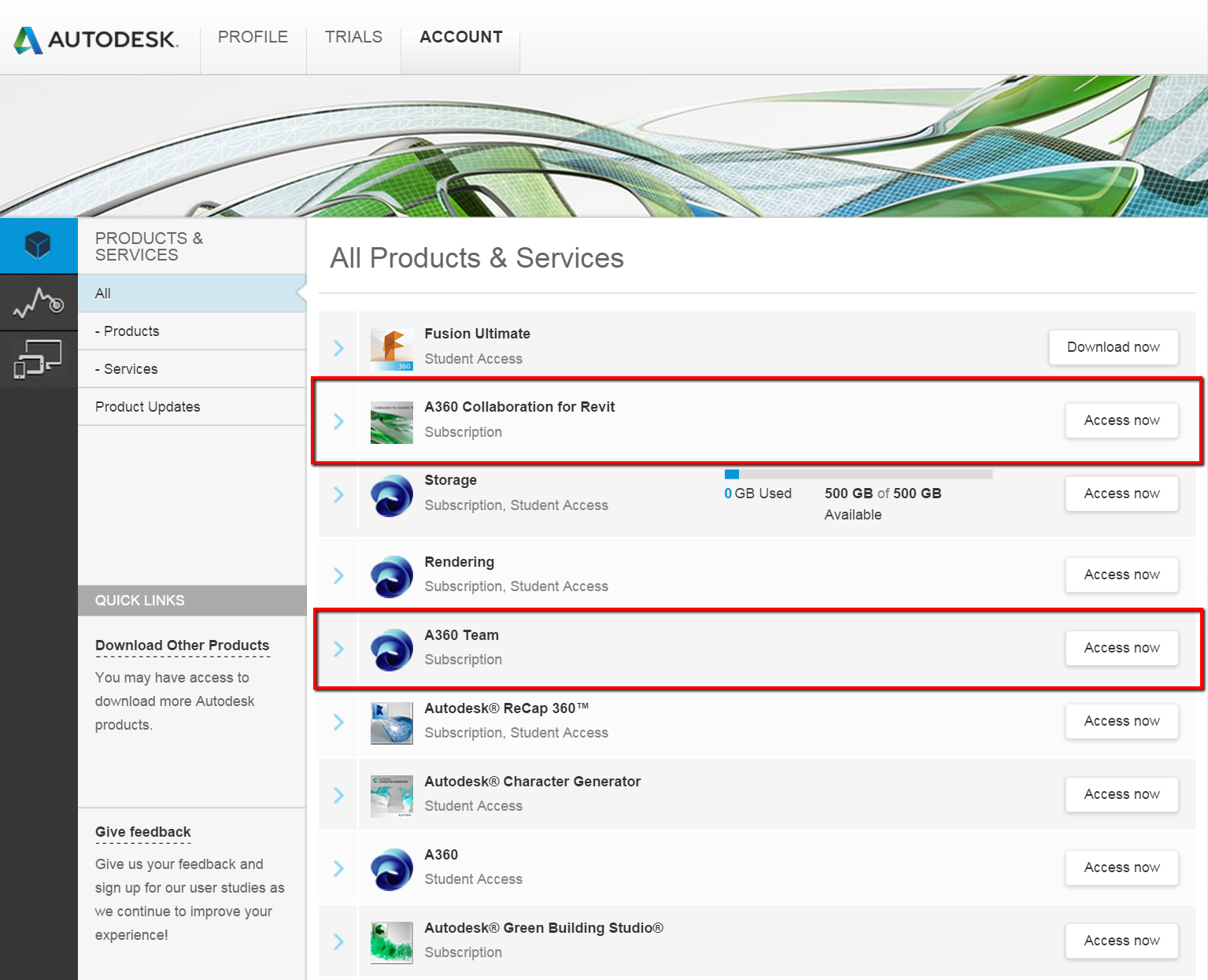 Collaborate using the cloud is greyed out in Revit | Revit