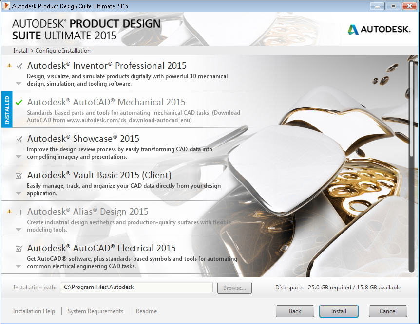 Purchase Autodesk Product Design Suite Ultimate 2015