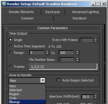 Rendering High Resolution Images Ds Max